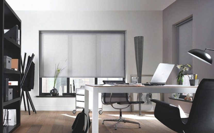 Tipos de persianas y cortinas en canc n para oficina u - Cortinas para oficinas ...