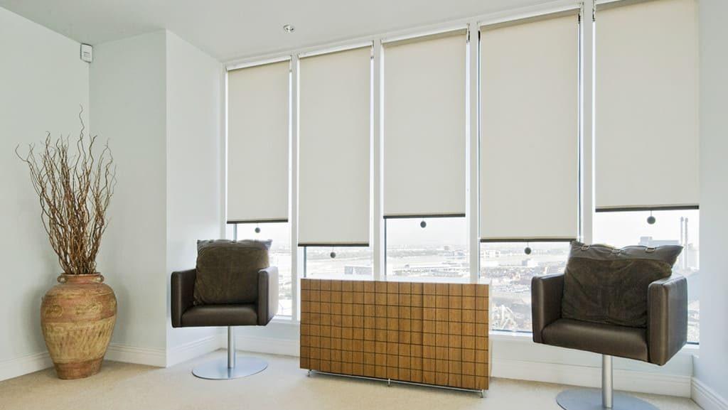 cortinas enrollables para sala en Cancún