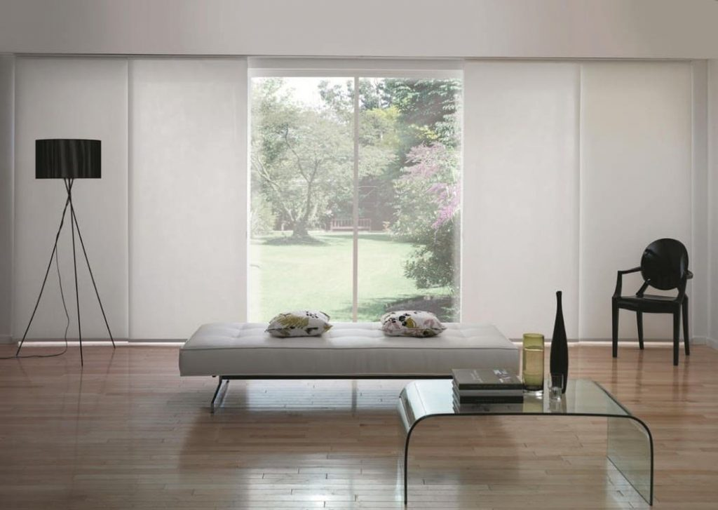 cortinas para sala en Cancun modelo japones
