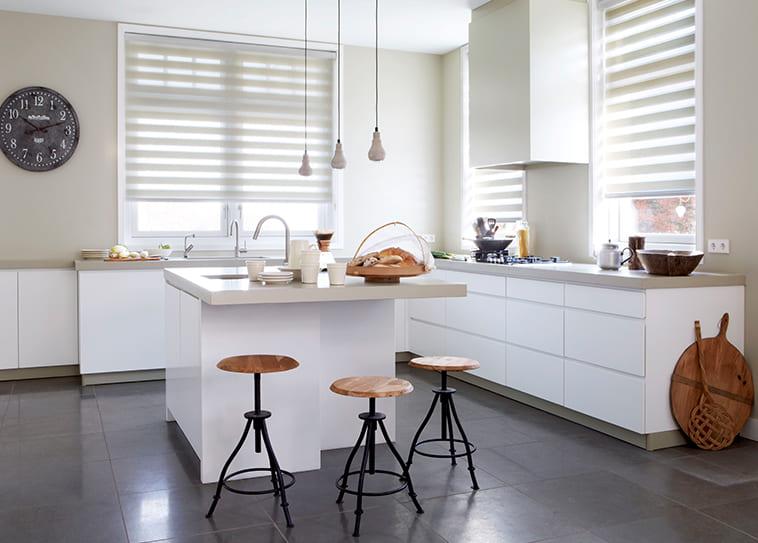 cortinas para cocina cancun estilo moderno