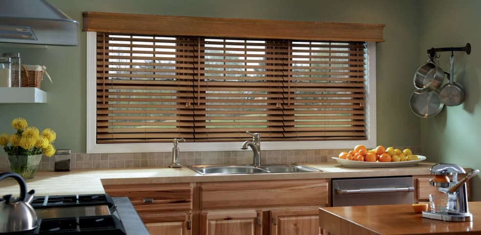persianas de madera para cocina en la paz baja california